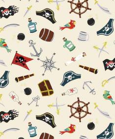 Makower Pirates Range, Love Stitching, UK, Northern Ireland