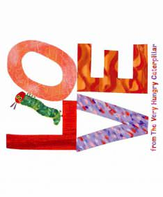 Makower UK Very Hungry Caterpillar Patchwork Fabric, lovestitching.co.uk, UK, Northern Ireland, NI, ROI
