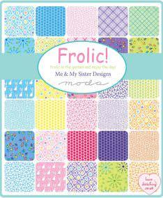 Moda Frolic Patchwork Fabric by Me & My Sister, lovestitching.co.uk, UK, Northern Ireland, NI, ROI