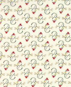 Moda Winter Village Patchwork Fabric by BacicGrey available at lovestitching.co.uk, UK, NI, Northern Ireland, ROI