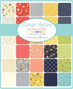 Moda Clover Hollow Patchwork Fabric available at lovestitching.co.uk, UK, Northern Ireland, NI, ROI