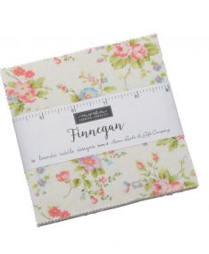 Moda Finnegan Patchwork Fabric by Brenda Riddle Charm Pack